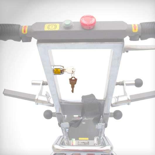 Лестничный гусеничный подъемник «JOLLY STANDARD» D5000010
