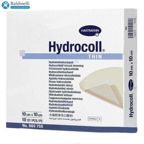 Гидроколлоидная повязка на рану Hydrocoll thin 10x10 см