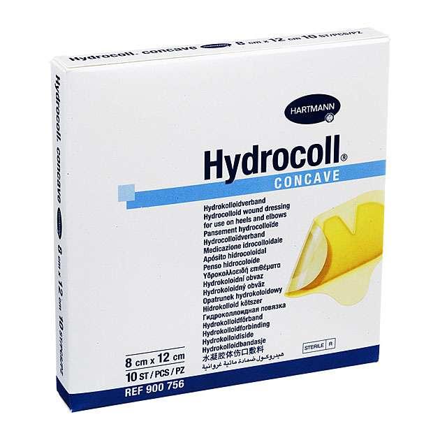 Повязка на рану в области пяток и локтей Hydrocoll Concave 15х13,5 см