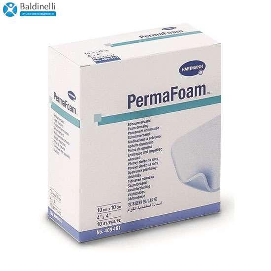 Губчатая повязка на рану PermaFoam 10х10 см