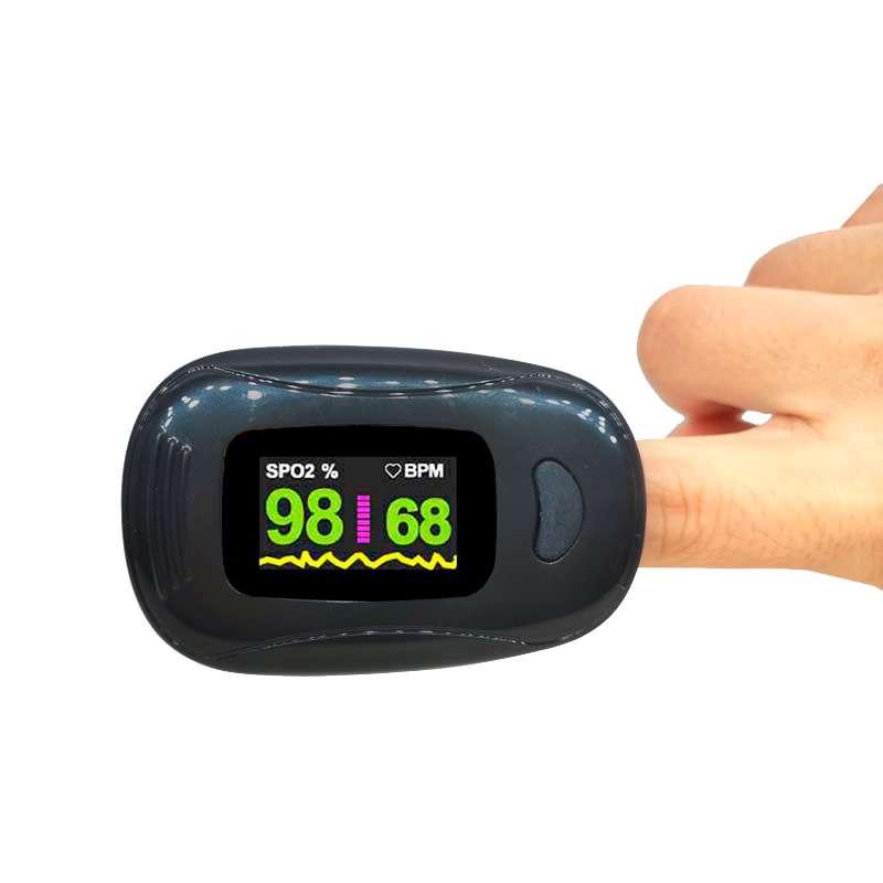Пальцевый пульсоксиметр A3-BLACK