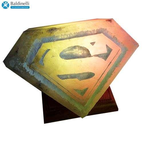 """Соляной светильник Артемсоль, """"Эмблемы супергероев"""""""