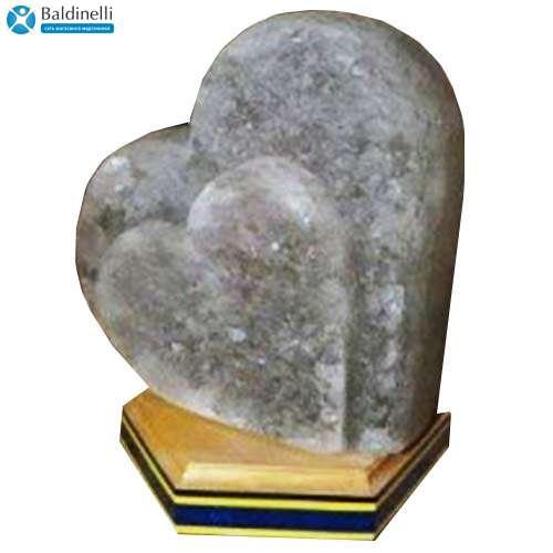 """Соляной светильник Артемсоль, """"Сердце"""" стоячее, большое"""
