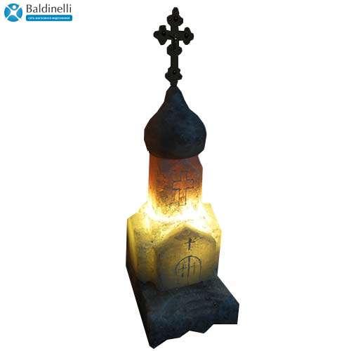 """Соляной светильник Артемсоль, """"Церковь"""" средняя"""