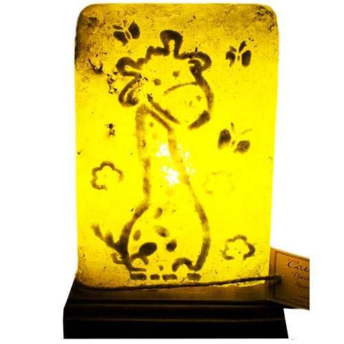 """Соляной светильник Планета соли, """"Жирафик"""", 1001"""
