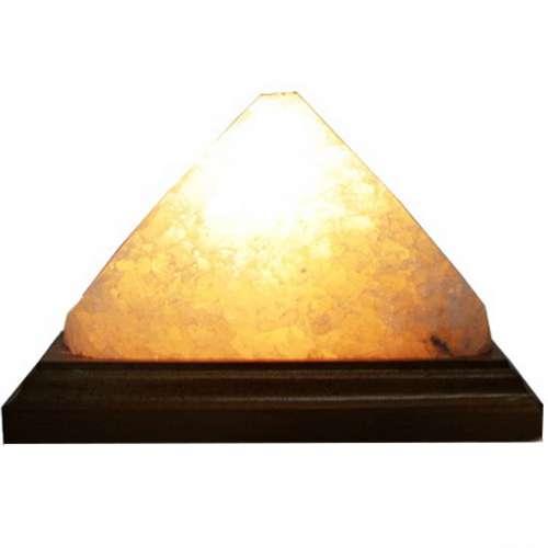 """Соляной светильник Планета соли, """"Пирамида энергетическая"""", 2036"""