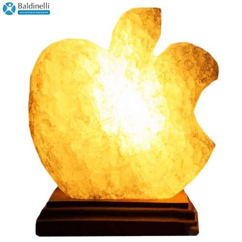 """Соляной светильник Планета соли, """"Яблоко Apple"""", 2052"""