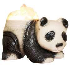 """Керамический соляной светильник Планета соли, """"Панда маленькая"""", 2067"""