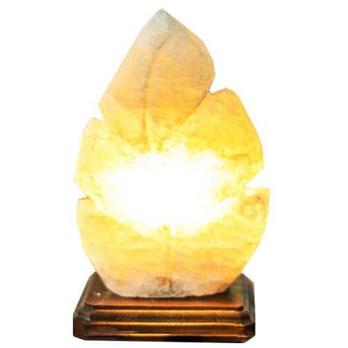 """Соляной светильник Планета соли, """"Лист резной"""", 2147"""