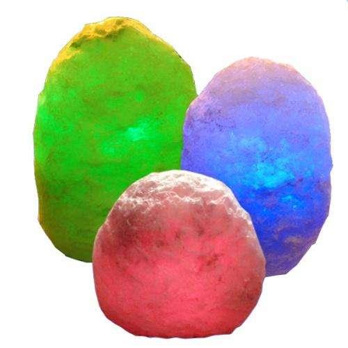 """Соляной светильник Соляна, """"Скала"""", с цветной подсветкой, SW-2506/1"""