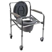 Кресло-стул с санитарным оснащением на колесах, PR-771