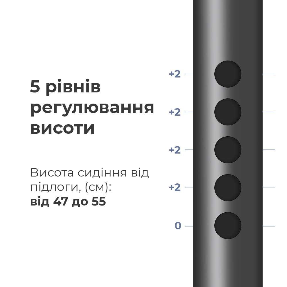 Стул-туалет с откидными подлокотниками OSD-2106D