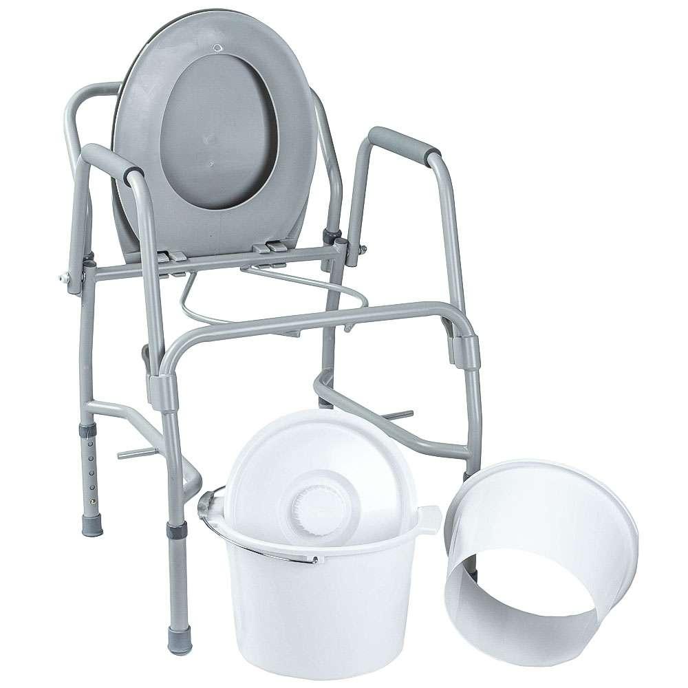 Стул-туалет с откидными подлокотниками, OSD-2106D