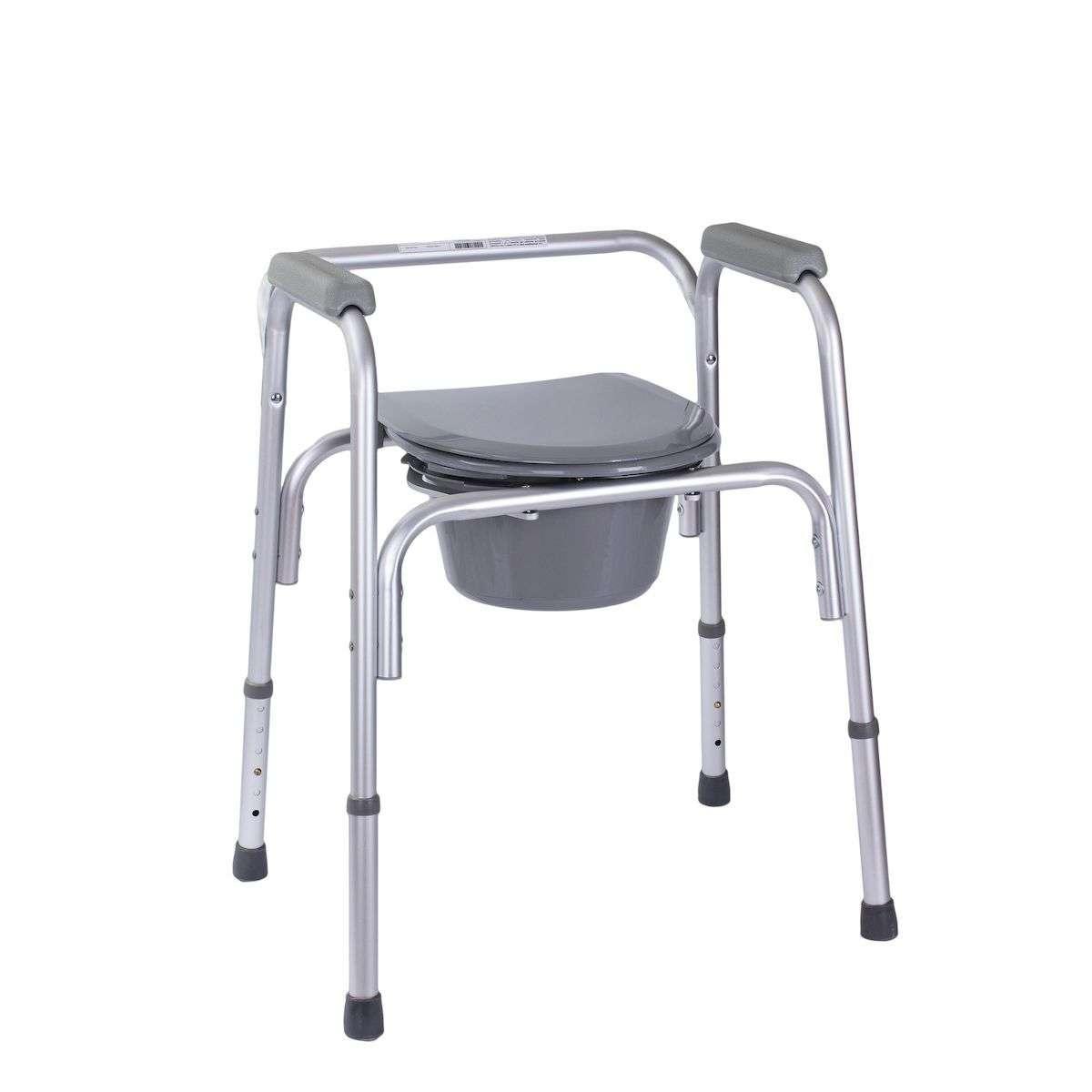 Алюминиевый стул-туалет 3в1, OSD-RB-2109А