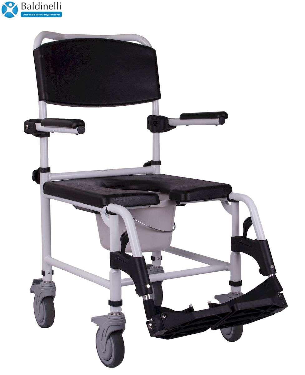 Кресло-каталка для душа и туалета, OSD Wave