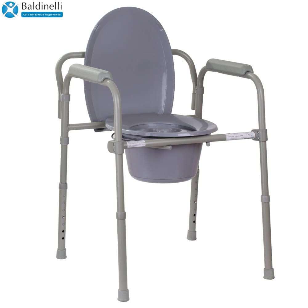Уценка: складной стул-туалет